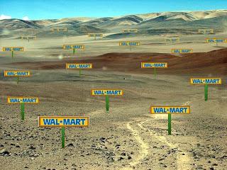 Wal-mart paisaje